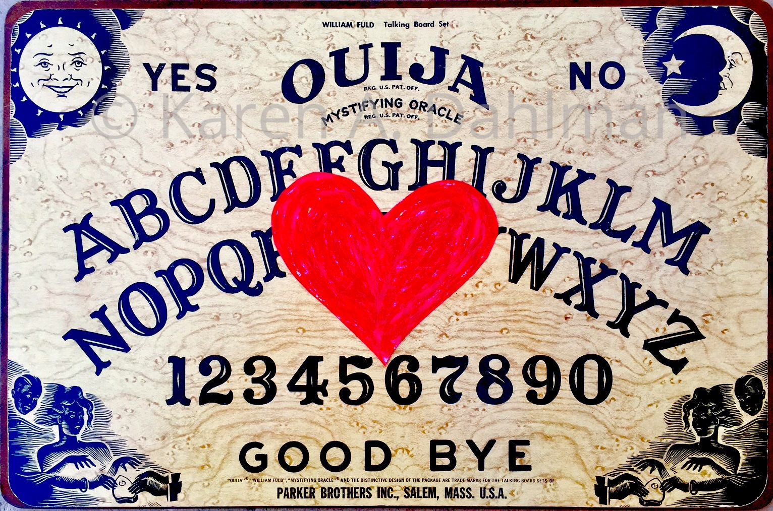 "The ""Spiritual Heart"" Ouija!"